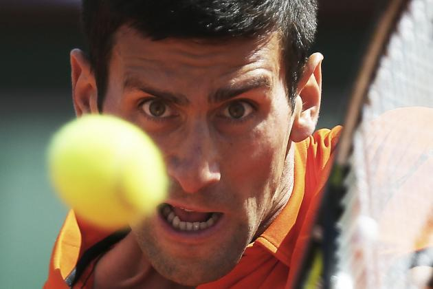 novak djokovic eye on andy murrays balls for 2015 french open