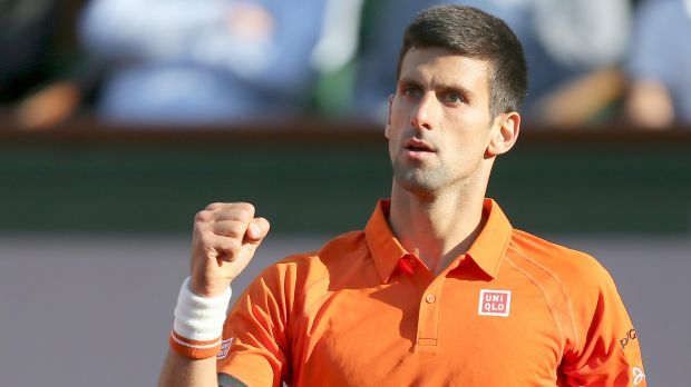 novak djokovic in quarter finals against rafael nadal 2015 french open