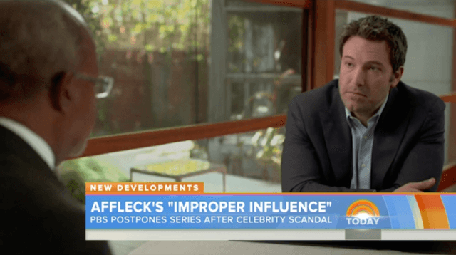 pbs reeling from ben affleck finding your roots scandal 2015 gossip