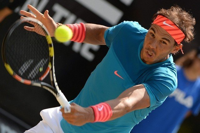 rafael nadal wins stuttgart grass court tennis 2015
