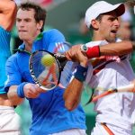 rafael nadal with andy murray at wimbledon djokofic federer tennis 2015