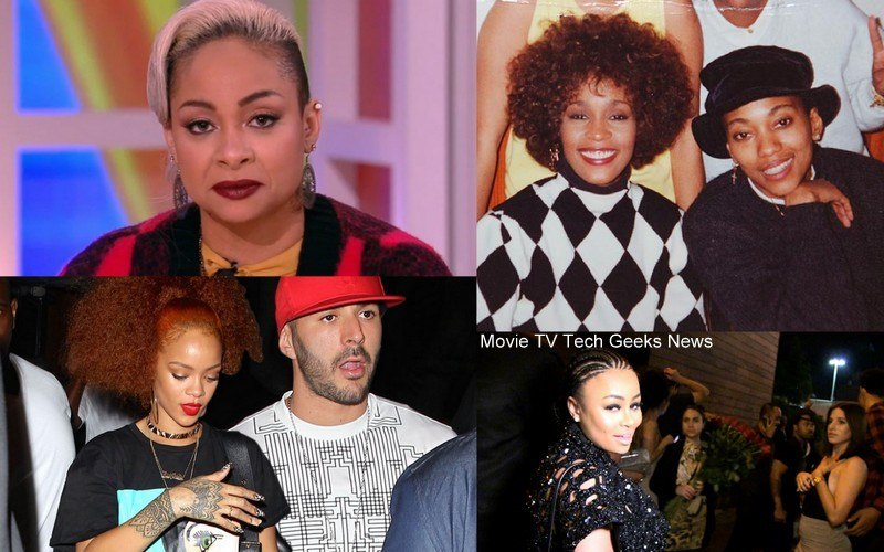 raven symone whitney houston lesbian with rihanna 2015 celebrity gossip