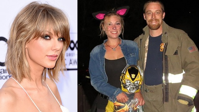 taylor swift helps firefighter 2015 gossip