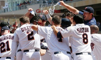 twins astros hold top spot in american league mlb 2015 images