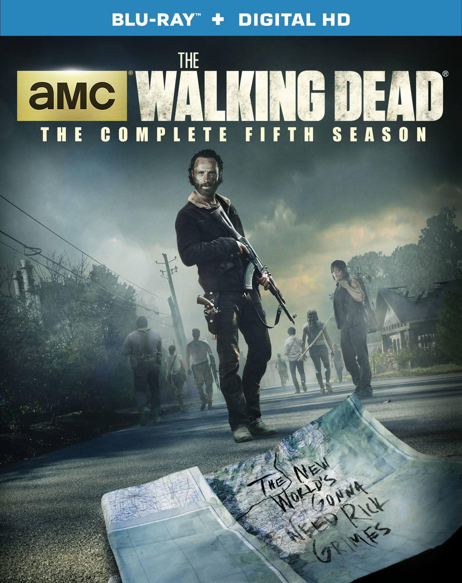 the walking dead season 5 box set cover image