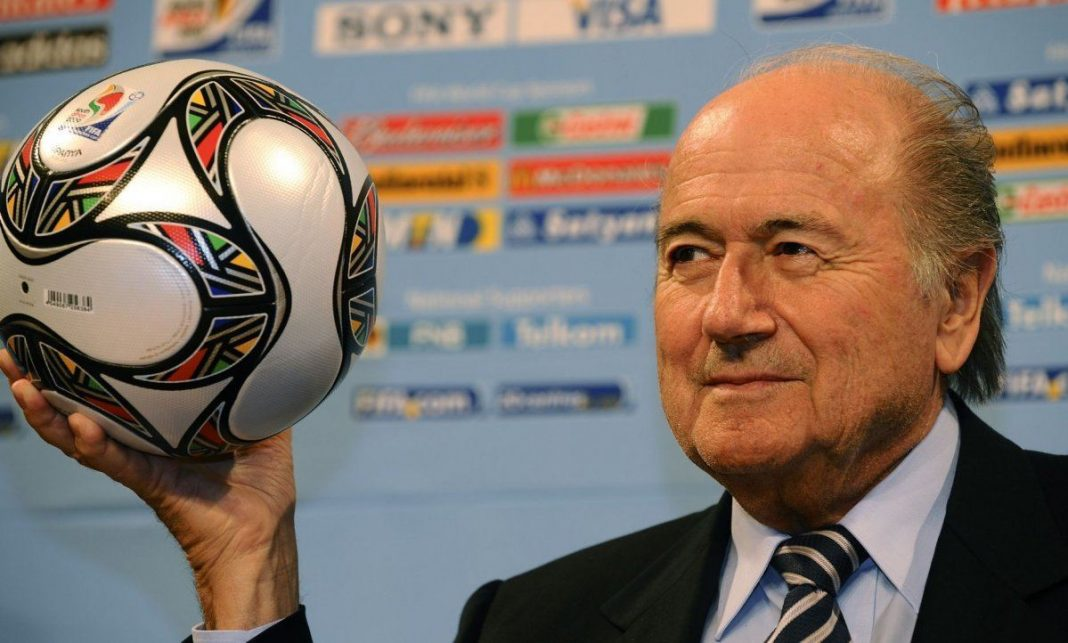 Sepp blatter fifa blames france germany for cup 2015 images