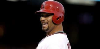 albert pujols american league week 15 winner mlb 2015 images