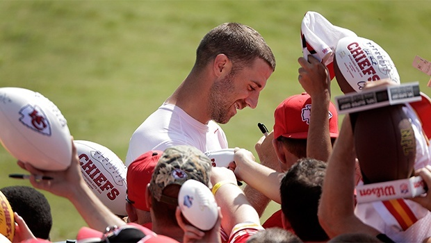 alex smith kansas city chiefs draft offseason recap images 2015