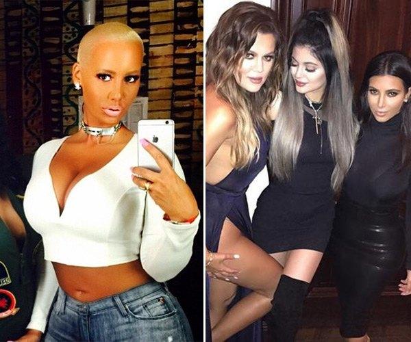 amber rose reaching out to khloe kardashian 2015 gossip