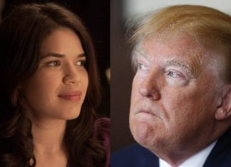 america ferrera takes on donald trump 2015 gossip