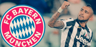 arturo vidal moving to bayern munich soccer 2015