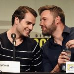 ben affleck with henry cavill at comic con 2015 gossip