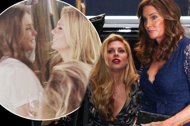 caitlyn jenner kissing candis kayne on i am cait 2015 gossip