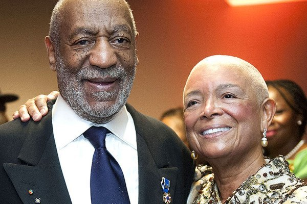 camille cosby standing by bill rape 2015