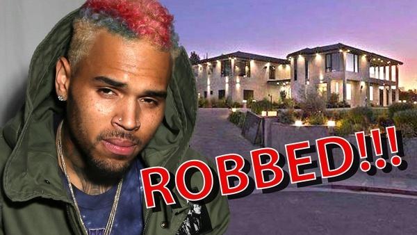 chris brown robbed aunt hostage 2015 gossip