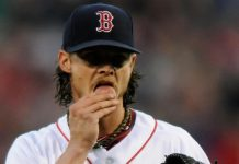 american league week 13 clay buchholz red sox 2015 images
