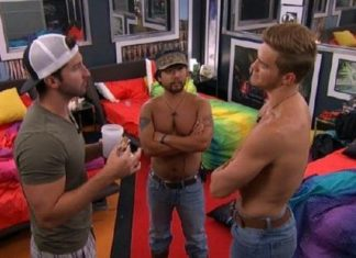 clay shirtless with john jeff big brother 2015 1710