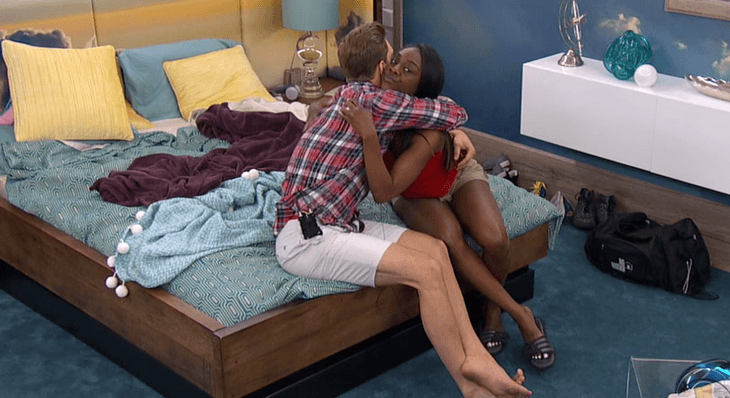davonne not happy with clay big brother 17 2015