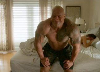 dwayne johnson ballers ep 101 recap images 2015 shirtless