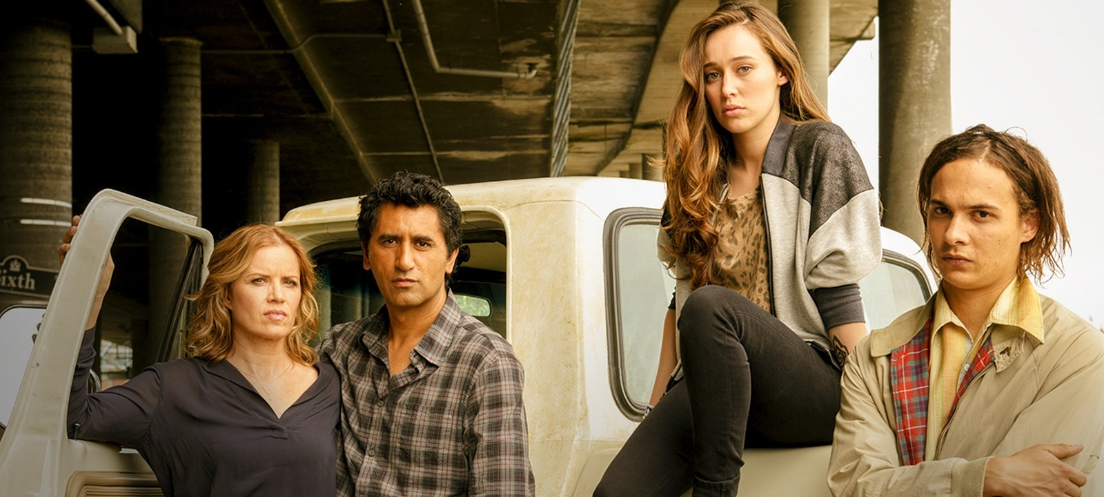 fear the walking dead cast amc 2015 promising