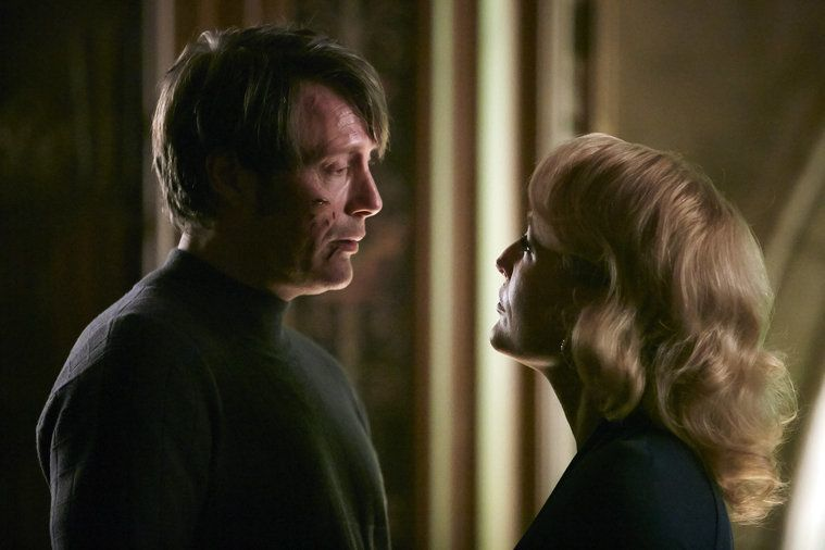 hannibal dolce 306 mads mikkelsen with gillian anderson 2015 images