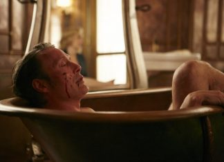 hannibal mads mikkelsen in bathtub dolce 2015 306