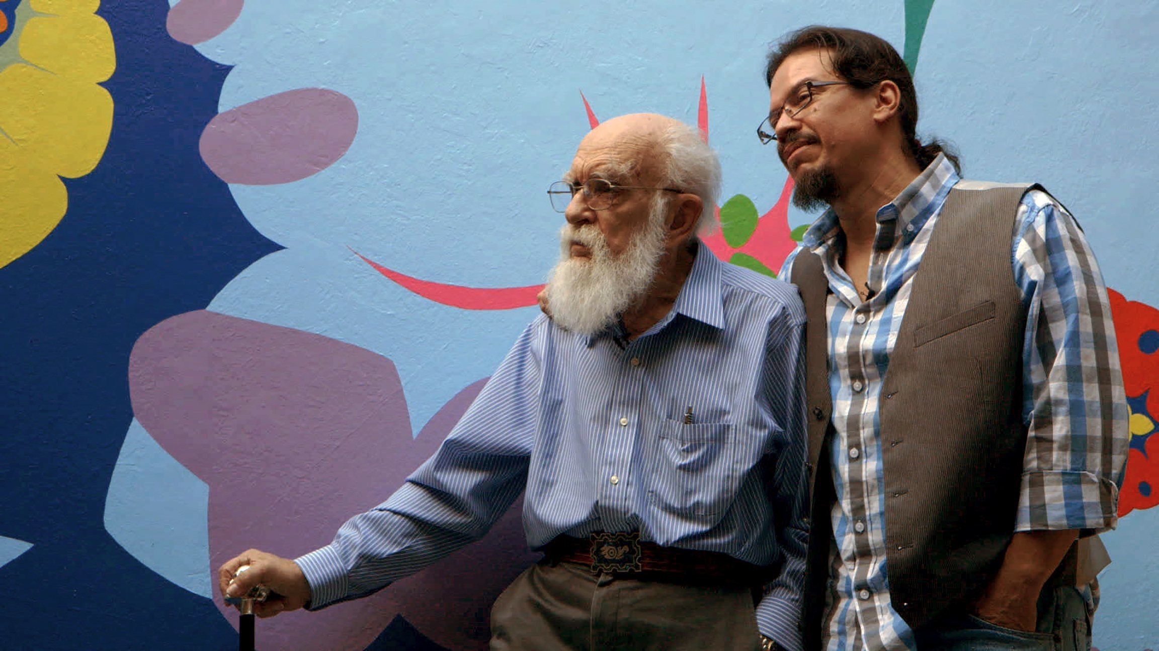 james randi with boyfriend jose alvarez for an honest liar movie 2015