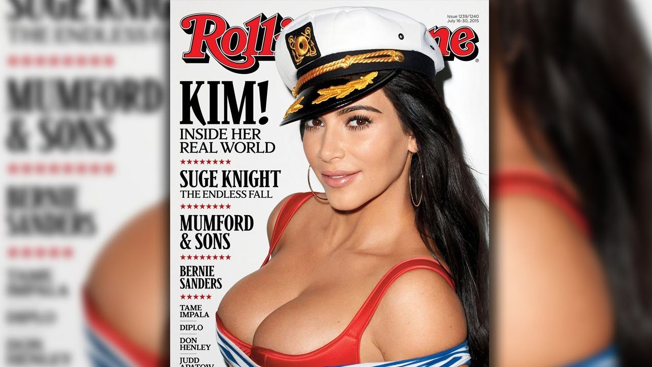 kim kardashian busts out for rolling stone cover images 2015 gossip