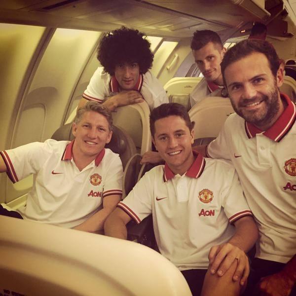 manchester united bulge soccer team 2015