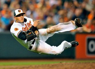 manny machado orioles sexy top man american league week 14 2015 images