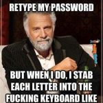 no more typing passwords 2015