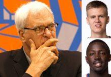 phil jackson blowing through new york knicks cap salary 2015 images nba