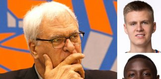 phil jackson blowing through new york knicks cap salary 2015 images nba