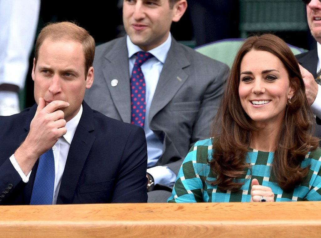 prince william with kate middleton at wimbledon for novak djokovic 2015 gossip