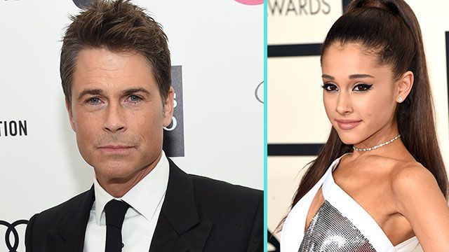 rob lowe blasts out arianna grande 2015 gossip
