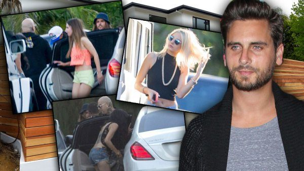 scott disick limo girls 2015 kourtney kardashian 2015 gossip