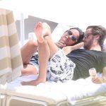 Scott Disick spotted with Chloe Bartoli on Monte Carlo beach in Monaco