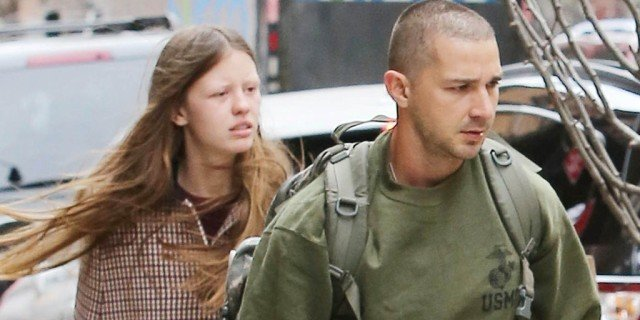 shia labeouf abusive with mia goth 2015 gossip