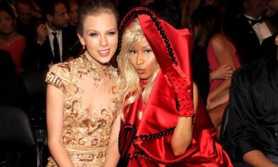 taylor swift nicki minaj friends again 2015 gossip