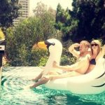 taylor swift swan job for calvin harris 2015