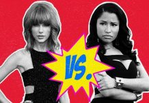 taylor swift vs nicki minaj twitter war 2015 gossip