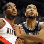Tim Duncan & LaMarcus Aldridge Join Forces on San Antonio Spurs