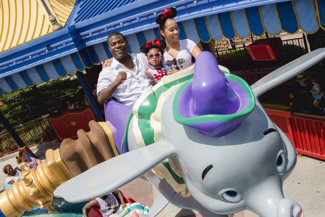 tracy morgan at disney world with daughter 2015 gossip