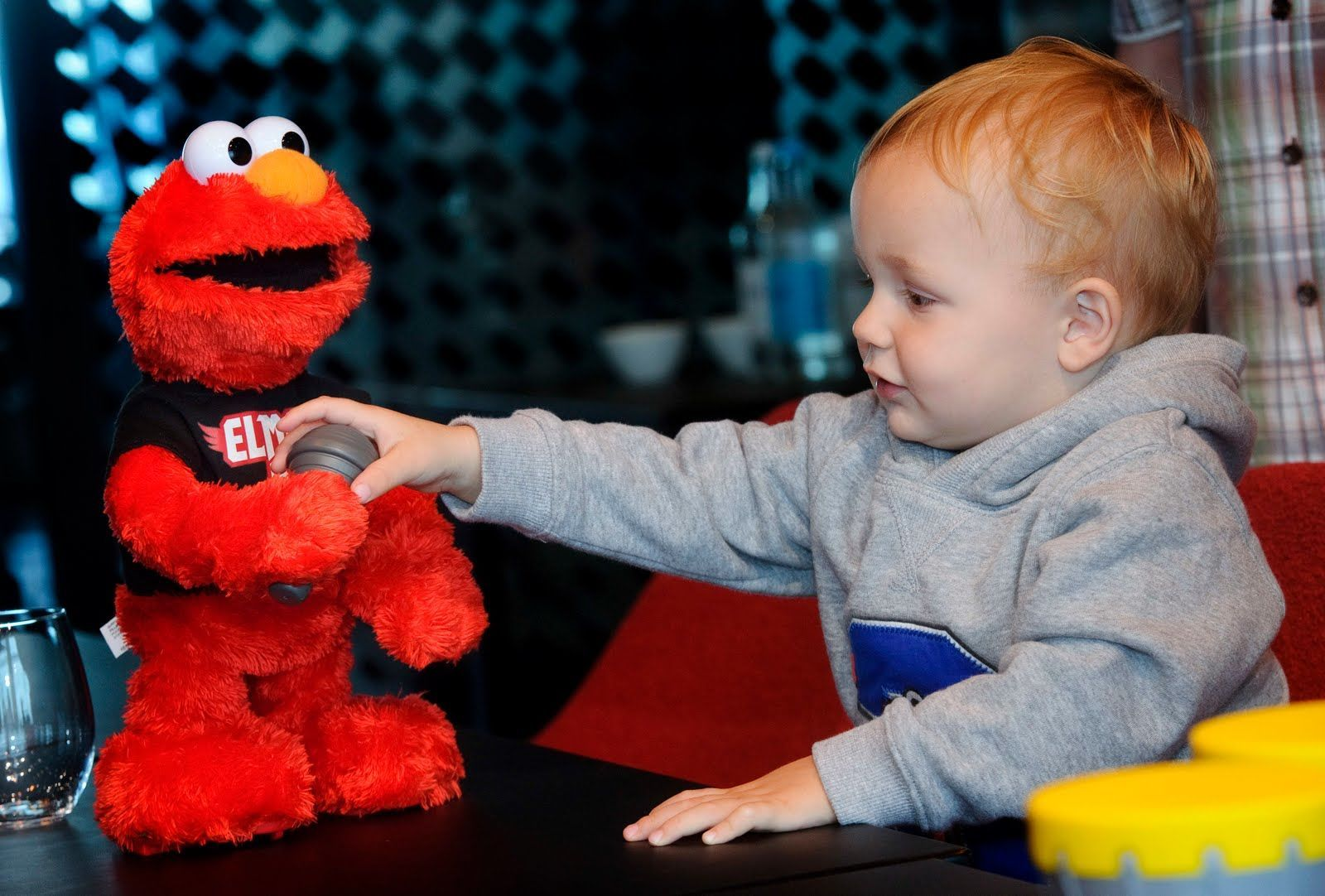 Baby Playing With Play All Day Elmo 2015 hottest kids toys