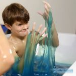 Boy Playing With Blue Slime Baff 2015 hottest xmas kids toys