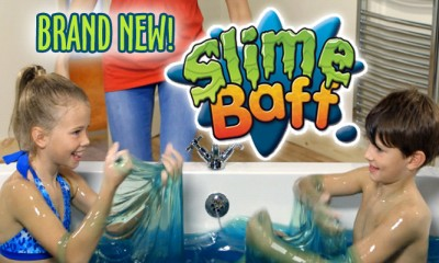 Kids Playing In All New Slime Baff 2015 hottest kids toys