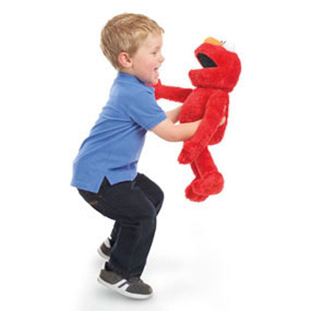 LIttle Boy Playing With Play All Day Elmo 2015 hottest xmas toys