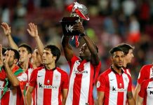 athletic bilboa clinch supercopa de espana award 2015 soccer