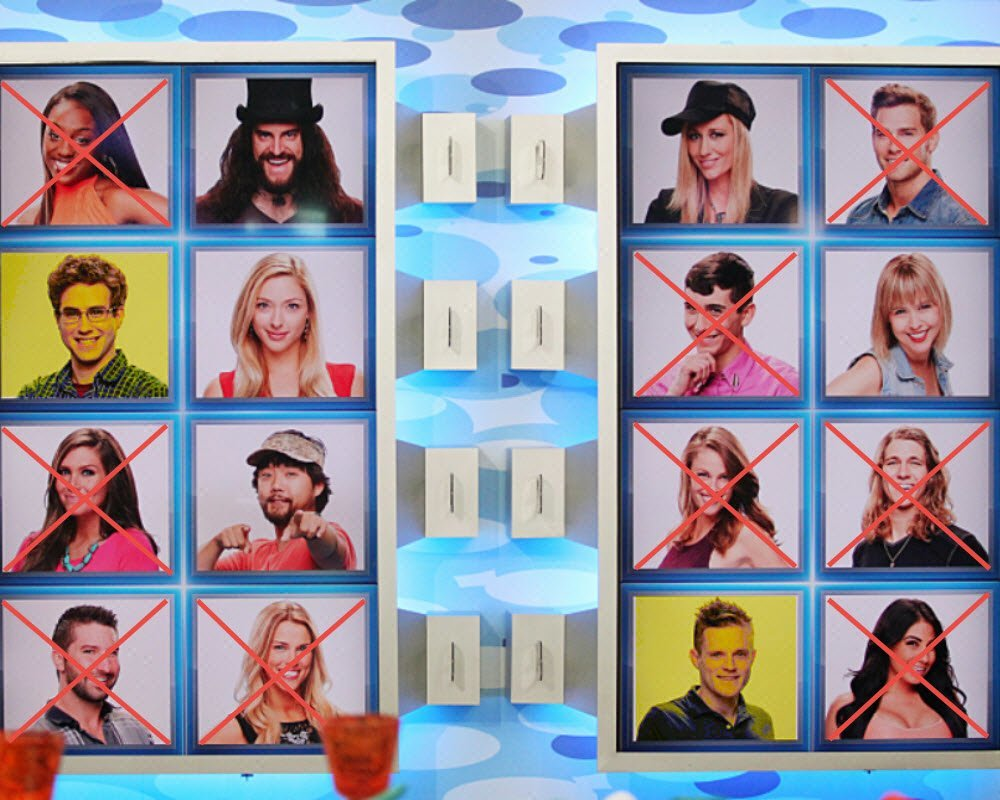 big brother 1726 john steve nominated eviction 2015