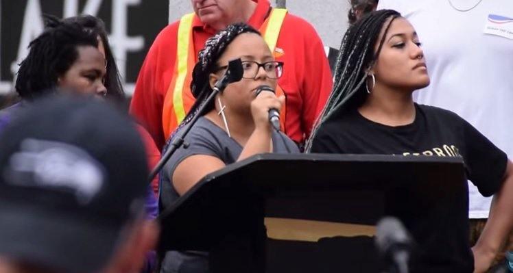 black lives matter push bernie sanders off 2015
